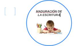 MADURACIÓN DE LA LECTURA