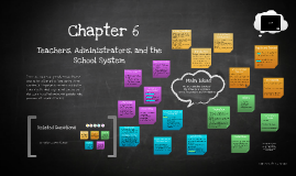 Chapter 6: Teachers, Administrators, and the School System
