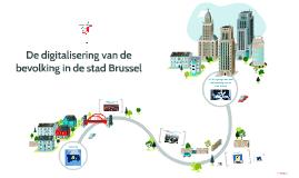 De digitalisering van de bevolking in de stad Brussel
