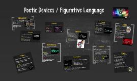 Copy of Poetic Devices / Figurative Language