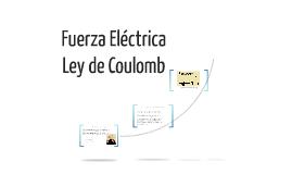 Fuerza Eléctrica