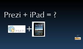 Prezi + iPad= ?