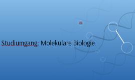 Studiumgang: Molekulare Biologie
