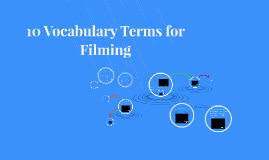 10 Vocabulary Terms for Filming