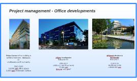 Project management - Office developments