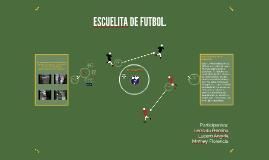 """Copy of """"Escuelita de futbol:"""