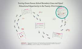Tearing Down Fences: School Boundary Lines and Equal Educati