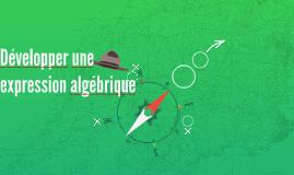 Développer une expression algébrique