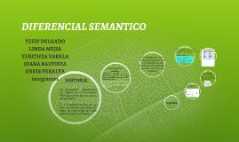 DIFERENCIAL SEMANTICO