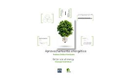 Aprovechamiento Energético de los Residuos Sólidos Municipales