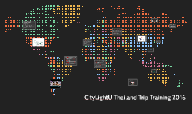 CityLight U Thailand Training