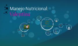 Manejo Nutricional: