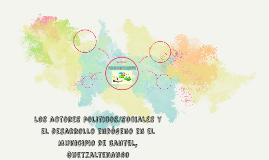 los actores politicos/sociales y el desarrollo endógeno en e