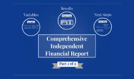Comprehensive Financial Report Presentation