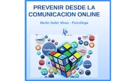 Prevenir desde la comunicación online