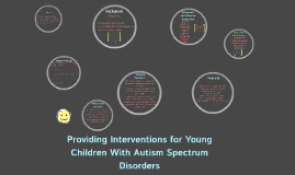 Providing Interventions for Young Children With Autism Spect