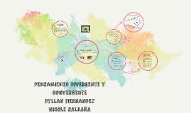 Copy of Pensamiento Divergente y convergente