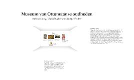 Nationaal verhaal Ottomanen