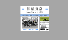 KCL MARROW AGM