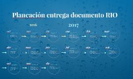 Entrega Documento RIO