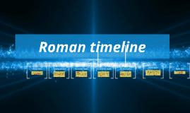 Copy of Roman timeline