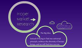 Howard Moskovitz: Proper Market Research