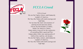 FCCLA Creed by Whysteria Curry on Prezi