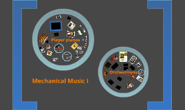 Mechanical Music I October 17