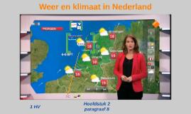1HV H2 P8 Weer en klimaat in Nederland