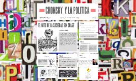 CHOMSKY  Y LA POLITICA