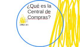 ¿Qué es la Central de Compras?