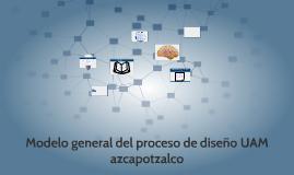 Copy of Modelo general del proceso de diseño UAM  azcapotzalco
