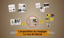 Copy of L'acquisition du langage