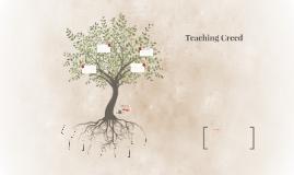 Teaching Creed - Team B