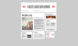 ATHLETE CAREER DEVELOPMENT