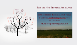 Advanced - Heir Property Opportunities in Arkansas