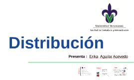 Distribución - Mercadotecnia