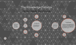 The Knowledge Paradox