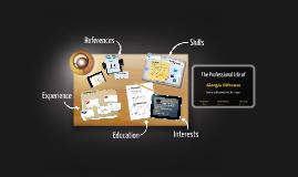 Desktop Prezumé by Giorgio Difronzo