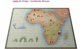 Linha do tempo - história da África