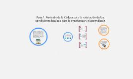 Fase 1: Revisión de la Cédula para la valoración de las cond