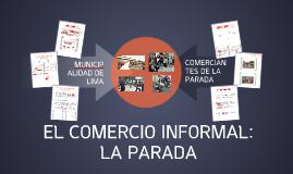 COMERCIO INFORMAL: LA PARADA