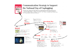 Communication Strategy for National Day of Unplugging