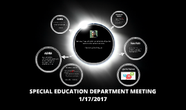 SPED Department Meeting