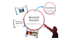 Material Density
