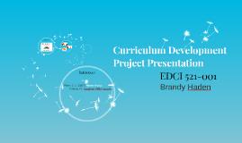 Curriculum Development Project Presentation
