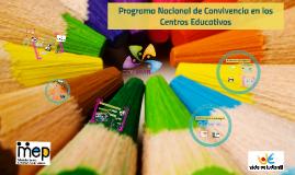 6. Programa Nacional de Convivencia