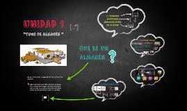 UNIDAD 1 ALMACENES