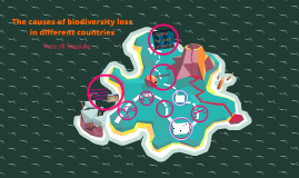 The causes of biodiversity loss in different countries