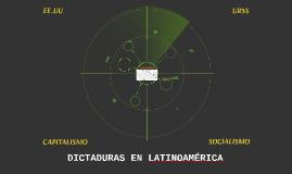DICTADURAS EN LATINOAMÉRICA